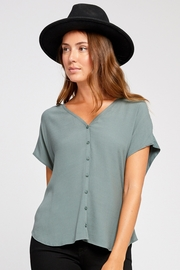 Gentle Fawn Maya V-Neck Blouse - Product Mini Image