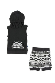 Kickee Pants Mayan-Pattern Hoodie Set - Product Mini Image