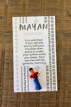 Gift Craft Mayan Worry Doll - Alternate List Image
