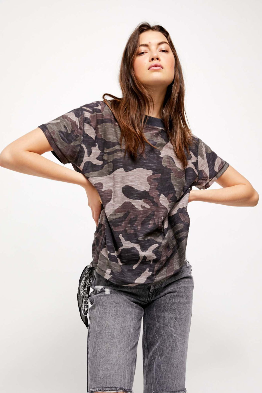 Free People Maybelle Tee - Front Cropped Image