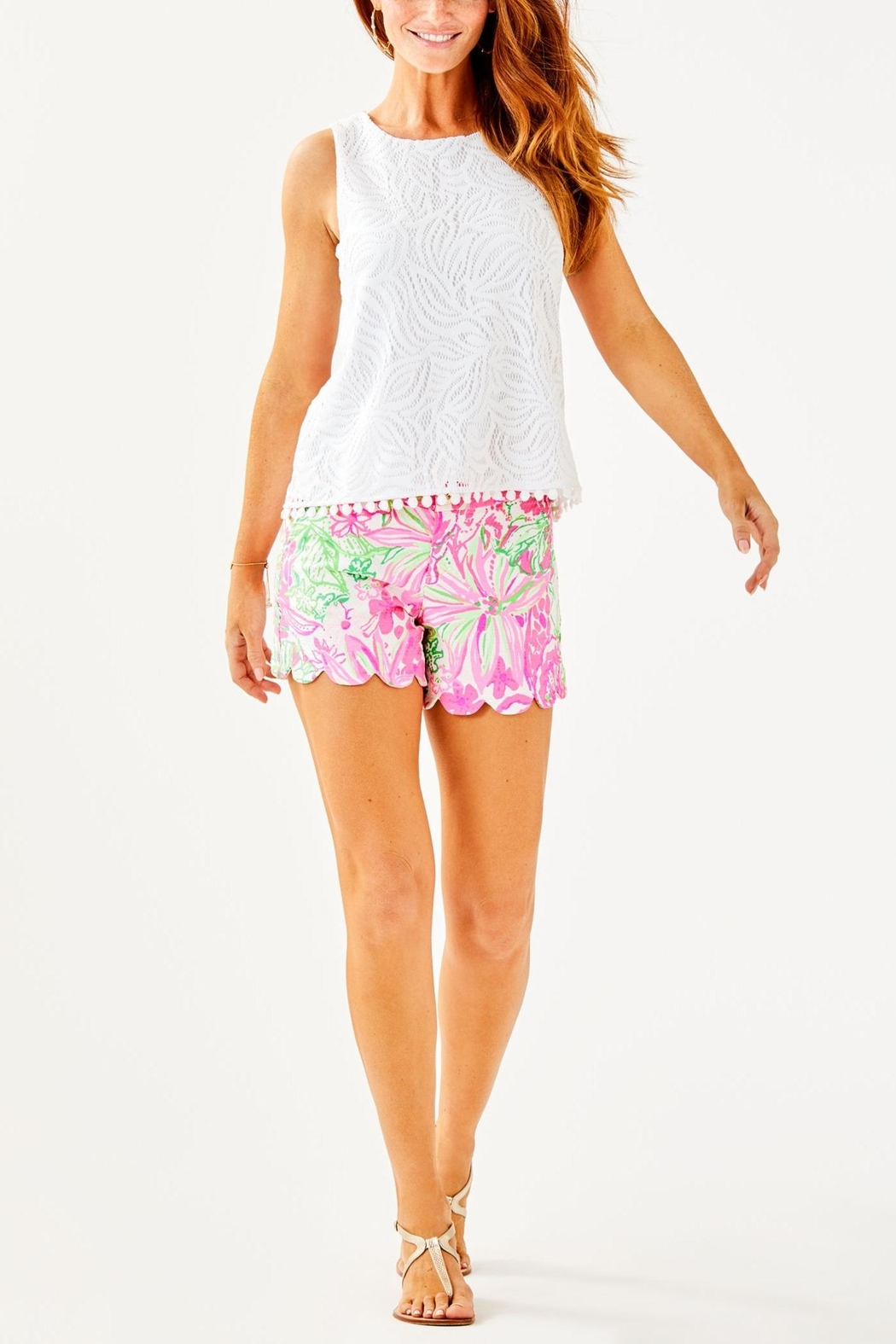Lilly Pulitzer Maybelle Top - Side Cropped Image