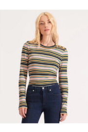 Veronica Beard Mayer Striped Top - Product Mini Image