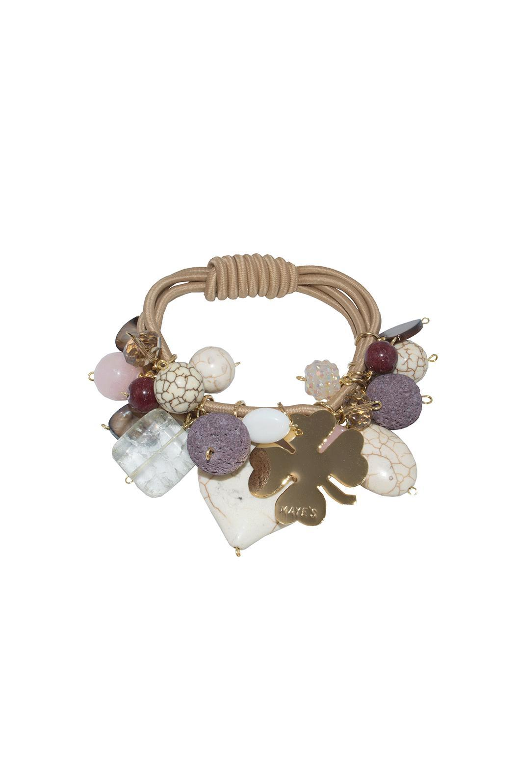 Mayes Accesorios Stretchy Bracelet - Front Cropped Image