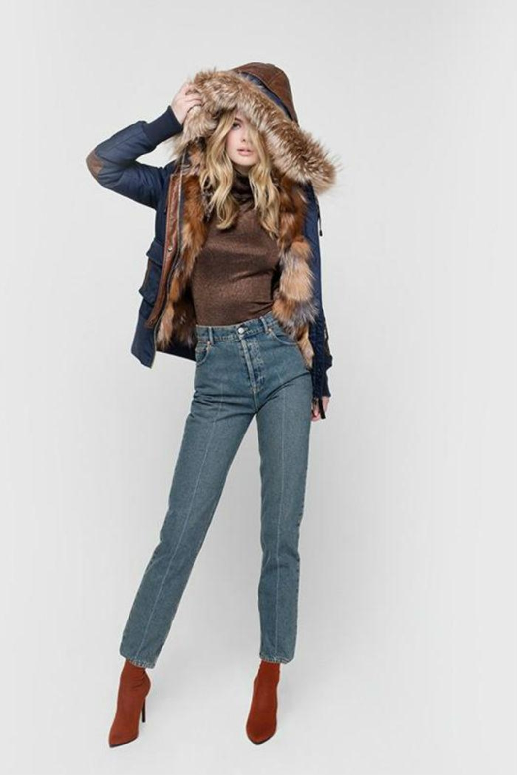 Nicole Benisti Mayfair Fur-Lined Bomber from Montreal by Boutique . 796b3cca9