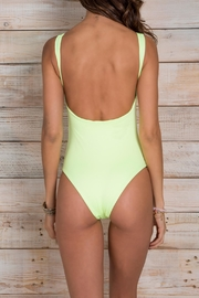 Maylana Swimwear Ace Lime Onepiece - Front full body