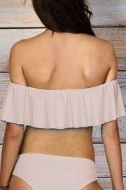 Maylana Swimwear Cora Beige Top - Side cropped