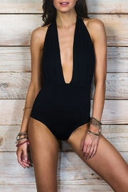 Maylana Swimwear Dani Black One Piece - Product Mini Image