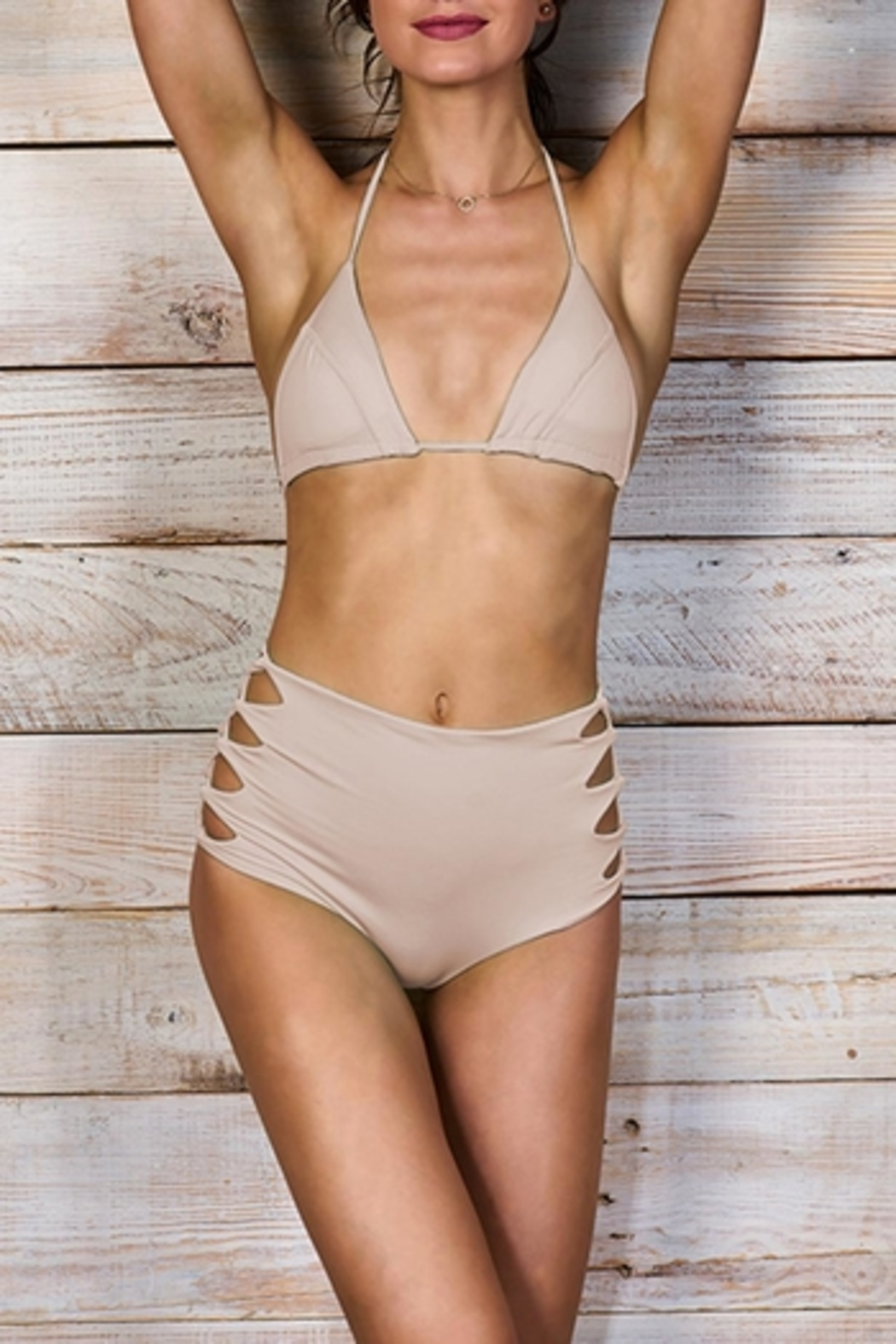Maylana Swimwear Dayja Beige Bottom - Main Image