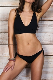 Maylana Swimwear June Black Bikini Top - Product Mini Image
