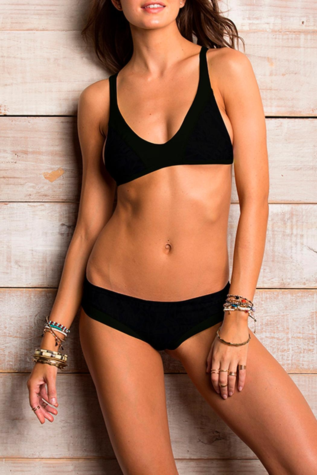 Maylana Swimwear Lain Black Swimsuit Top - Main Image
