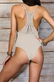 Maylana Swimwear Leif Beige One Piece - Product Mini Image