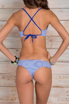 Shoptiques Product: Teeny Blue-Stripes Bottom