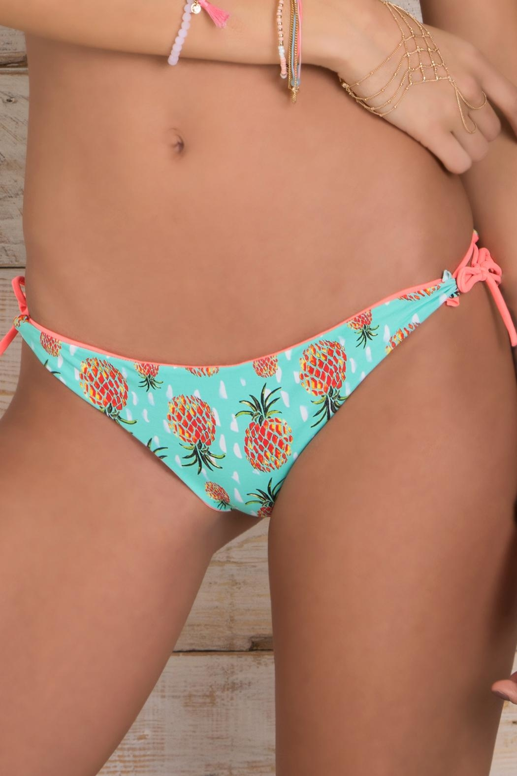 Maylana Swimwear Ulie Grapefruit Bottom - Side Cropped Image