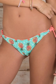 Maylana Swimwear Ulie Grapefruit Bottom - Side cropped