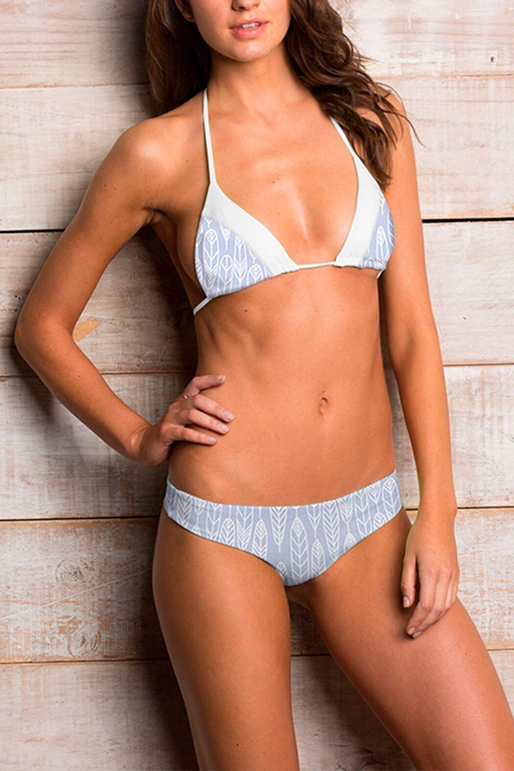 Maylana Swimwear Willa Gray Top - Main Image