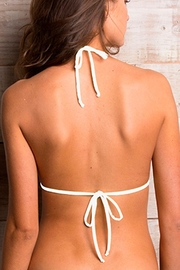 Maylana Swimwear Willa Gray Top - Back cropped