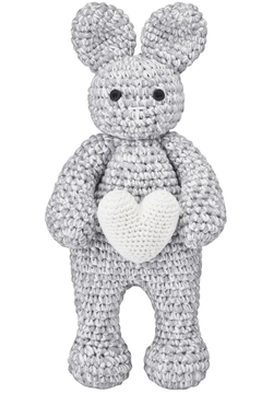 MAYLILY Maylily Bunny Friend Love Heart Knitted Toy For Newborn - Product List Image