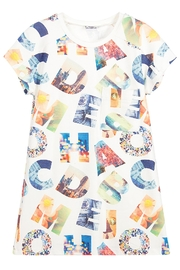 Mayoral Alphabet Short-Sleeve Dress - Product Mini Image