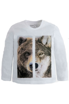 Shoptiques Product: Animal-Side-Of-Life Boys T-Shirt