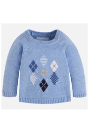 Image of Argyle Pullover Sweater
