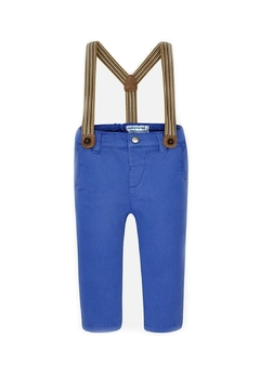 Shoptiques Product: Baby-Boy Chino-Pants-With-Suspenders