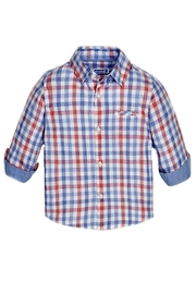 Mayoral Baby-Boy Long-Sleeve-Checked Shirt - Front cropped