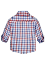 Mayoral Baby-Boy Long-Sleeve-Checked Shirt - Side cropped