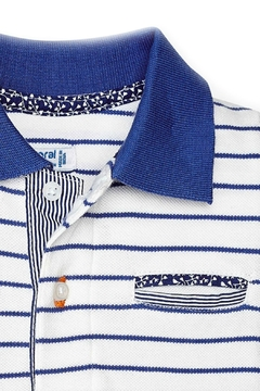 Mayoral Baby-Boy Striped Polo-Shirt - Alternate List Image