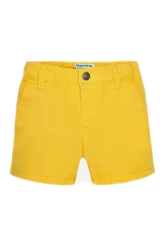 Shoptiques Product: Baby-Boy Yellow-Chino Shorts