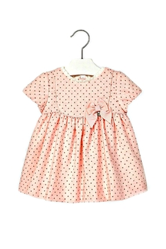 Shoptiques Product: Baby-Girl Pink-Wool-Blend Dress