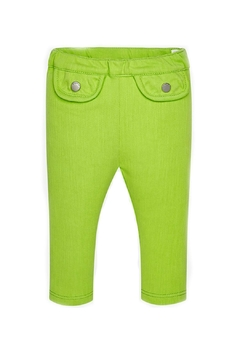 Shoptiques Product: Baby-Girl Super-Skinny Pistachio-Jeggings