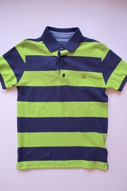 Mayoral Bamboo Stripe Polo - Product Mini Image