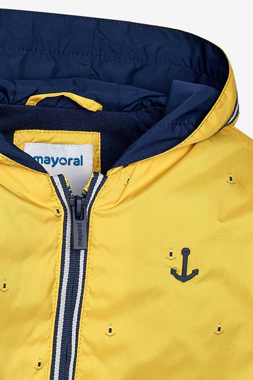 Mayoral Boys Anchors-Aweigh Windbreaker - Side Cropped Image