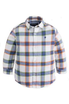 Shoptiques Product: Boys Checked Shirt