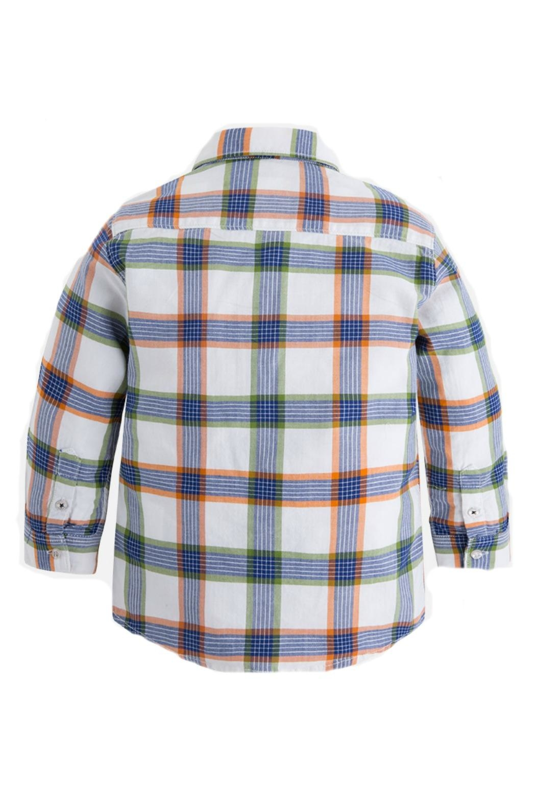 Mayoral Boys Checked Shirt - Front Full Image