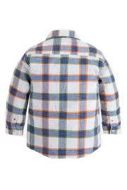 Mayoral Boys Checked Shirt - Front full body