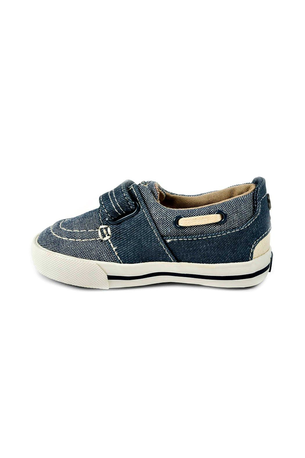 Mayoral Boys Nautical Denim-Boat-Shoes - Back Cropped Image