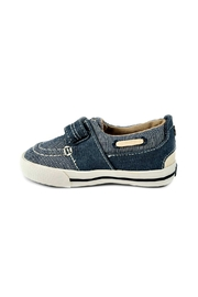 Mayoral Boys Nautical Denim-Boat-Shoes - Back cropped
