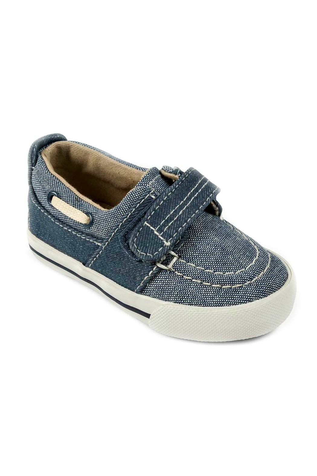 Mayoral Boys Nautical Denim-Boat-Shoes - Main Image