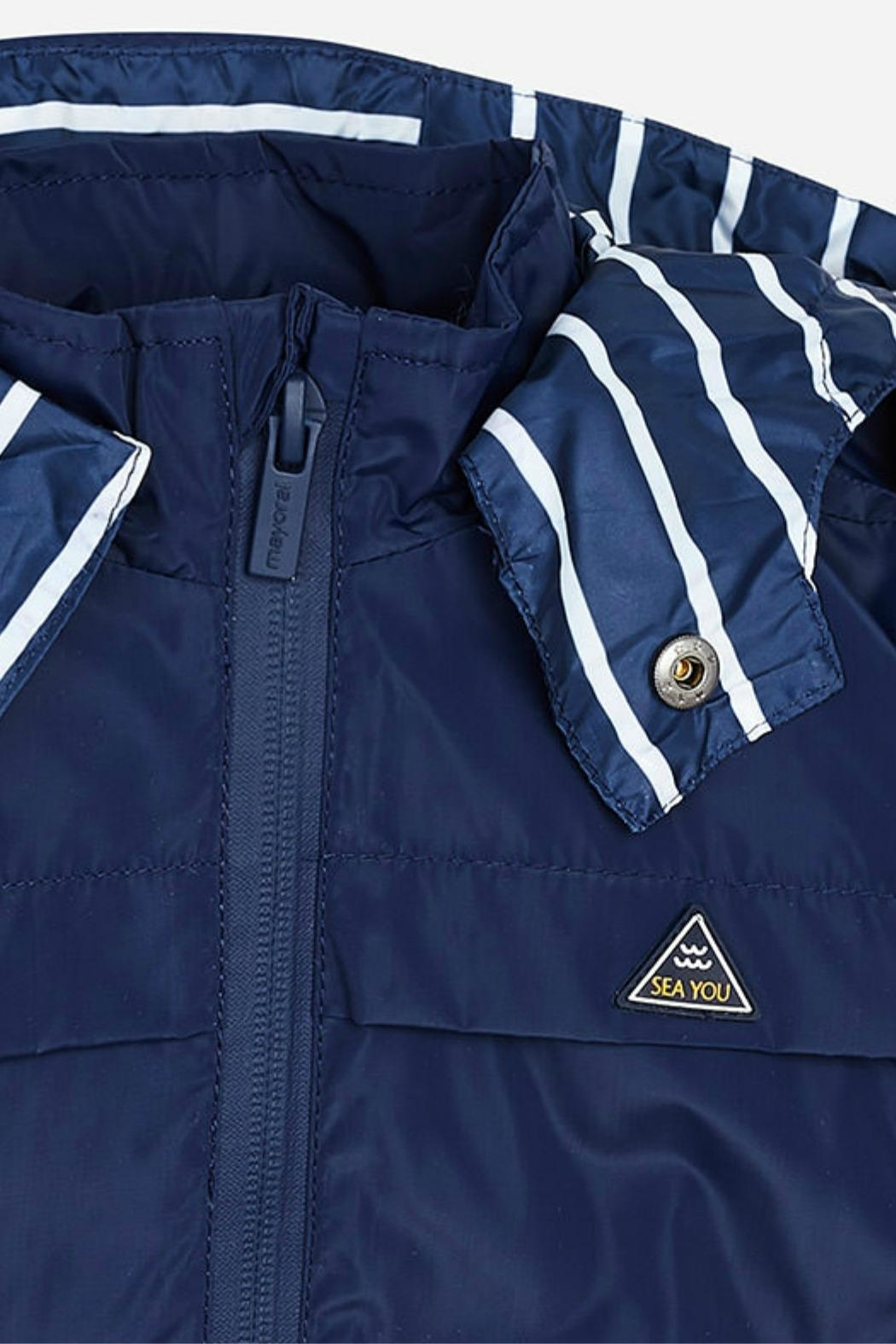 Mayoral Boys Sea-You-Sailor Windbreaker - Side Cropped Image