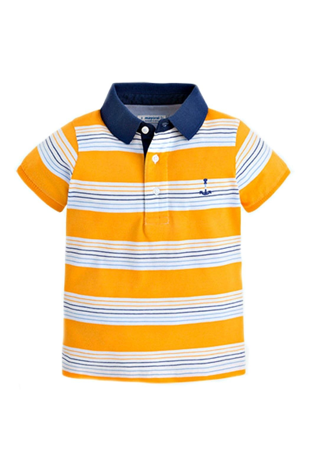 Mayoral Boys Striped Polo From South Carolina By The Childrens