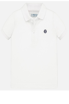 Mayoral Boys White Polo - Product List Image