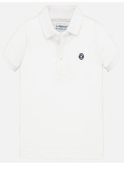 Mayoral Boys White Polo - Product Mini Image