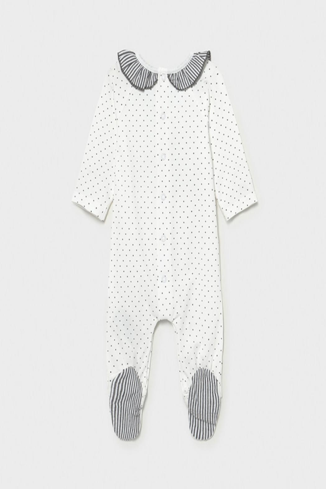 Mayoral Bunny Footed Onsie - Front Full Image