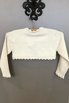 Mayoral Champagne Knitted Cardigan - Alternate List Image