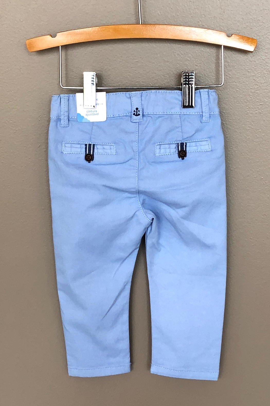 Mayoral Colored Denim Pant - Front Full Image