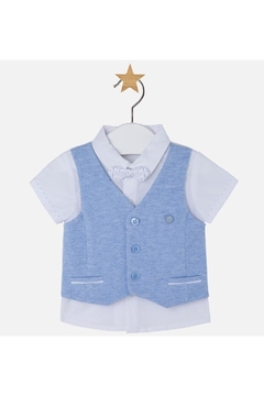 Mayoral Combined Vest & Shirt - Product List Image
