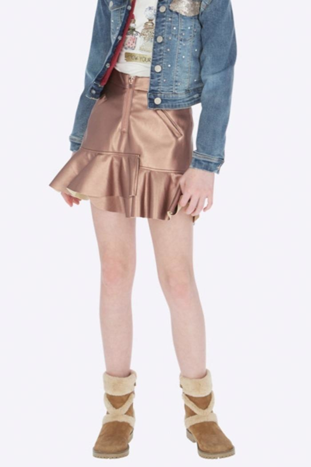 Mayoral Copper Skirt - Main Image