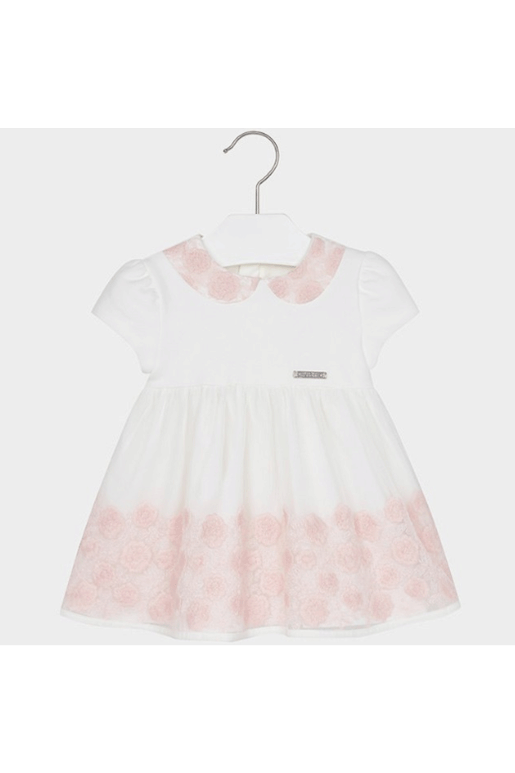 Mayoral Embroidered Tulle Dress - Main Image