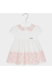 Mayoral Embroidered Tulle Dress - Front cropped